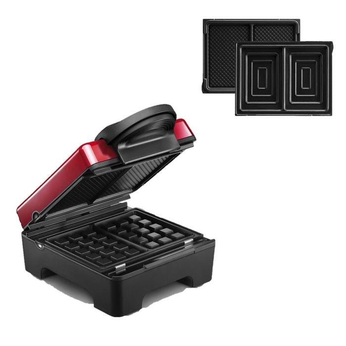 tarti gaufres plaque croque monsieur 029412 rouge. Black Bedroom Furniture Sets. Home Design Ideas