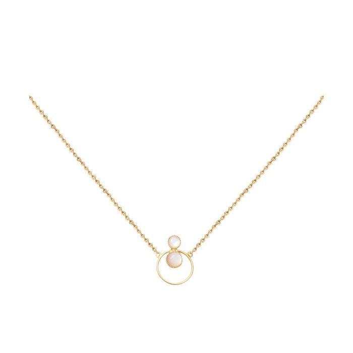 Nouveau Style Recommande La Sortie Collier doré nacre blanche sunset blanc Caroline Najman | La Redoute penPUV8