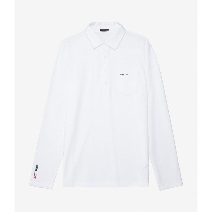 e7bac17f9c6ce Polo ls cs 1 long sleeve knit white blanc Ralph Lauren   La Redoute