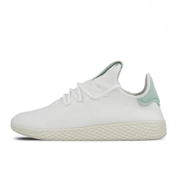 Baskets adidas x pharrell williams pw tennis mesh-40-blanc vert blanc vert  blanc Adidas  La Redoute