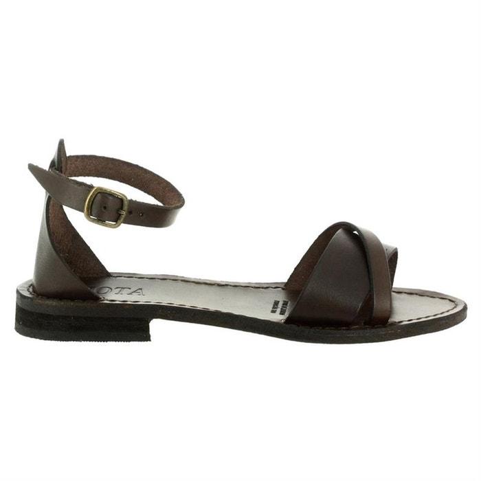 nu pieds IOTA pieds sandales cuir nu sandales pieds cuir IOTA nu IOTA sandales vPEdwv