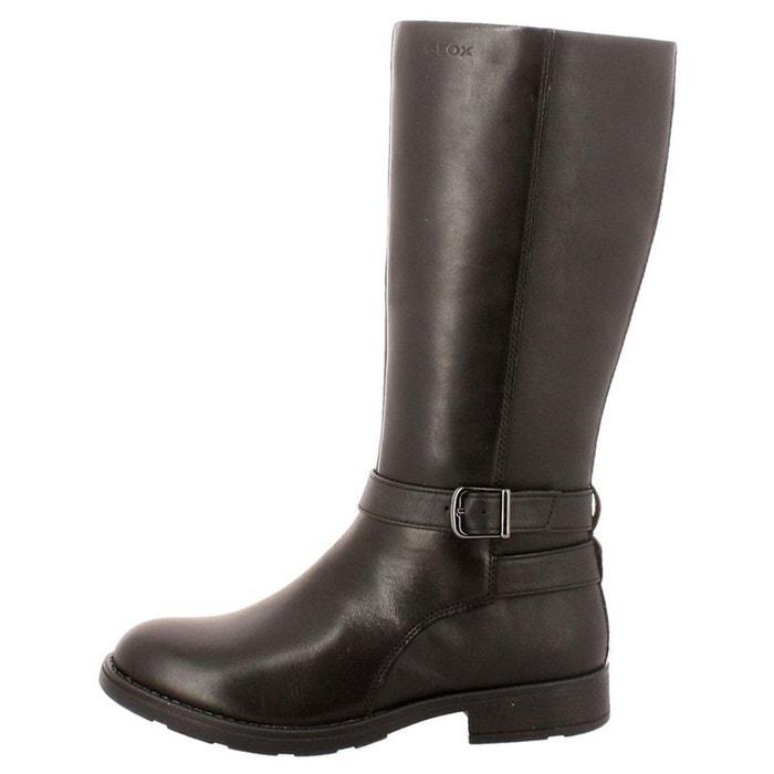 Bottes cuir sofia noir Geox   La Redoute 27e5183f0d73