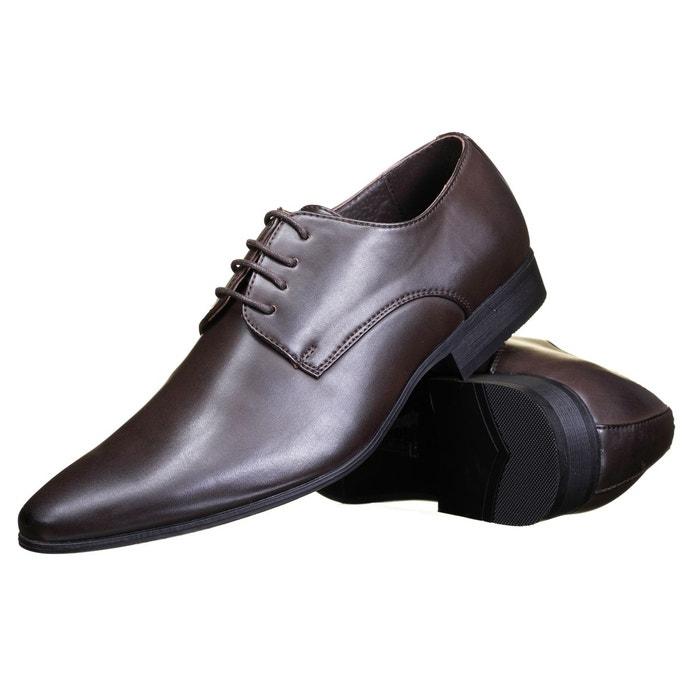 Chaussure derbie à lacets marron Galax