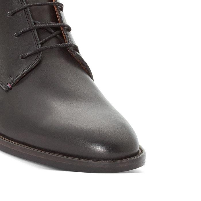 Boots cuir daytona noir Tommy Hilfiger