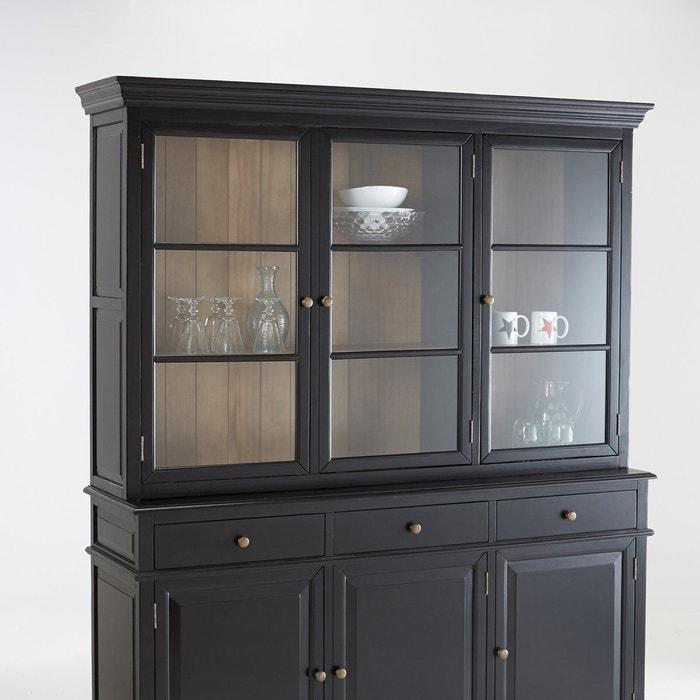Vaisselier 3 portes lipstick partie haute la redoute interieurs la redoute - La redoute fr meubles ...