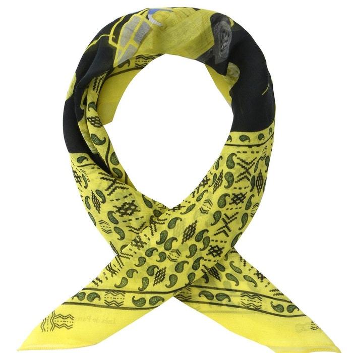 Bandana en coton soie jaune africa jaune Ines De Parcevaux | La Redoute Vendable Vente En Ligne Style De Mode Rabais Vaste Gamme De Amazon Frais De Port Offerts P6DXupwGz