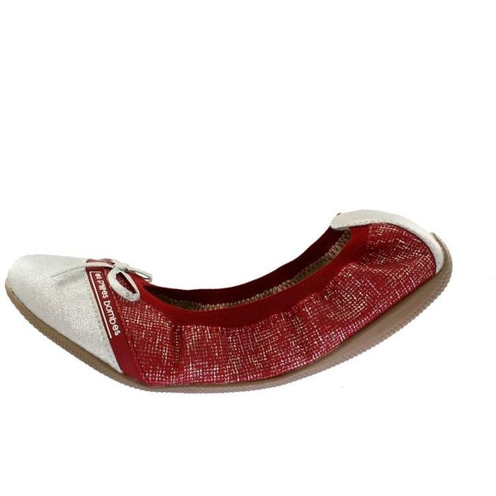 Ballerines  /  babies synthetique  rouge Lpb Shoes  La Redoute
