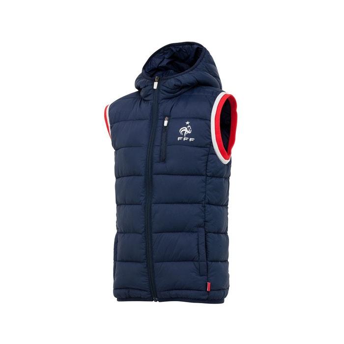 Doudoune à capuche sans manche france bleu junior bleu Made In Sport   La  Redoute 34e82b77c54