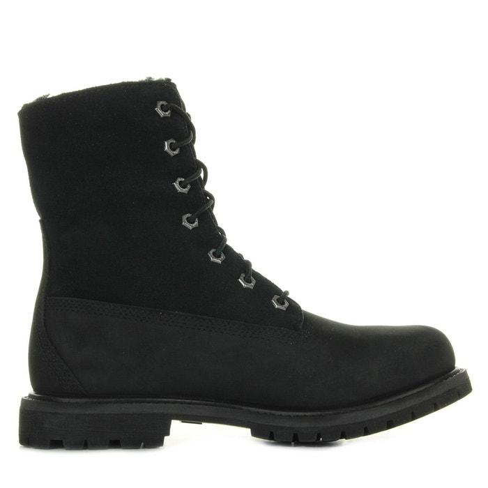Boot Authentics Teddy Fleece Waterproof Fold Down