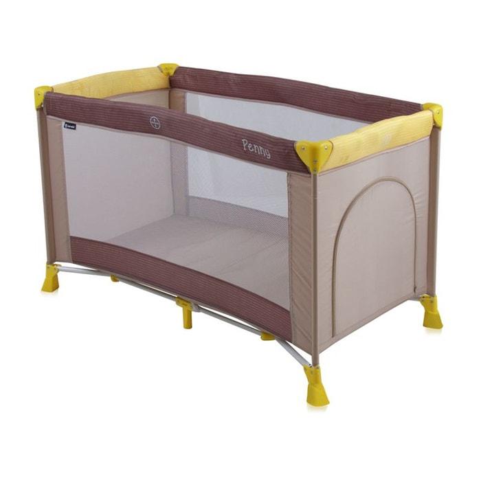 lit parapluie b b lit pliant penny 1 beige couleur unique lorelli la redoute. Black Bedroom Furniture Sets. Home Design Ideas