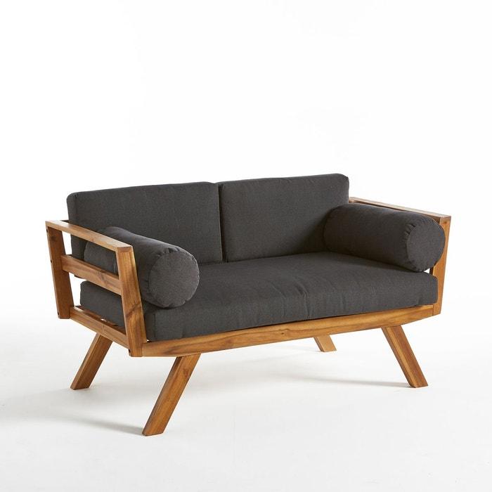 table basse de jardin en acacia grigio la redoute