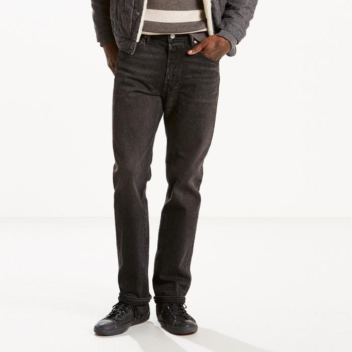 Jeans 501 regular, corte direito, em ganga  LEVI'S image 0