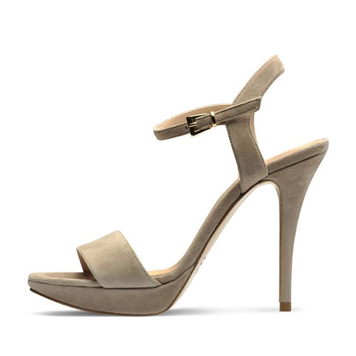 Sandales femme beige Evita