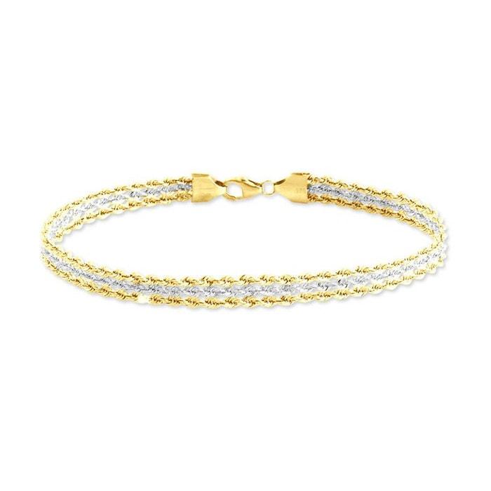Bracelet or bicolore Histoire D'or | La Redoute La Sortie En Vogue Dernière À Vendre excellent iQ1wd3jvSb