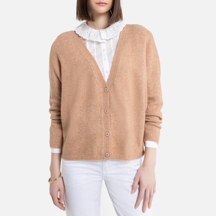 Gebreide, wijde vest in heel zacht tricot  LA REDOUTE COLLECTIONS image 0