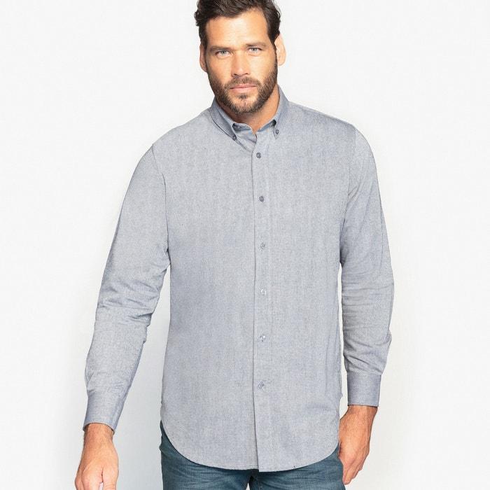 lisa larga CASTALUNA FOR manga Camisa MEN aqatwOS