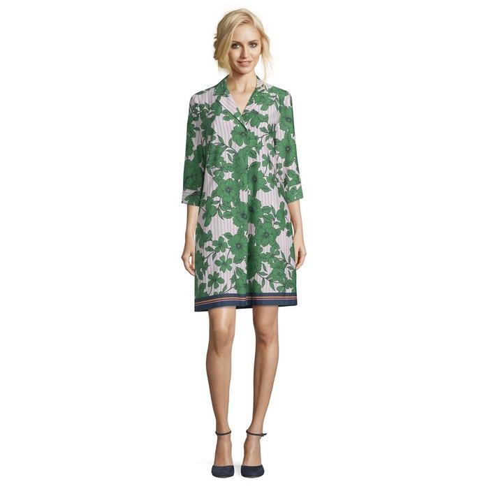 bfe06e75df41c Robe d'été à imprimé à fleurs green/rosé - vert Vera Mont | La Redoute