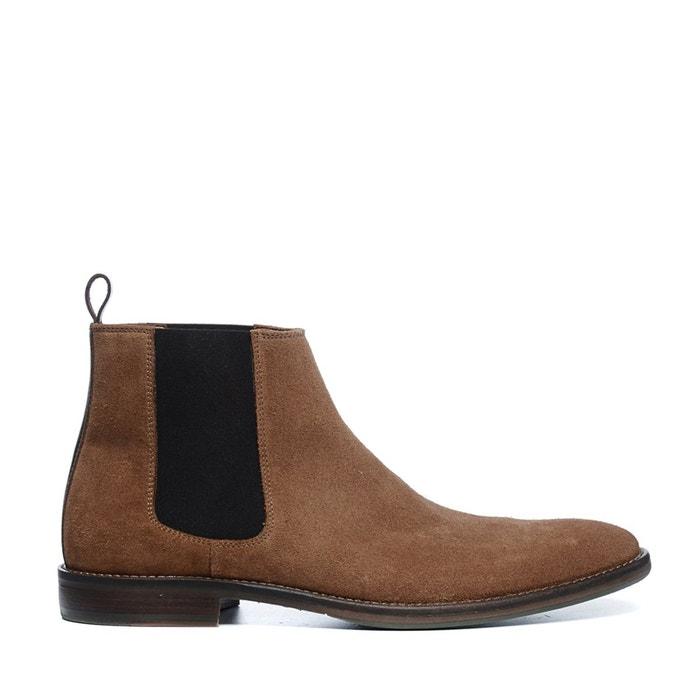 Boots chelsea hommes brun  brun Sacha  La Redoute