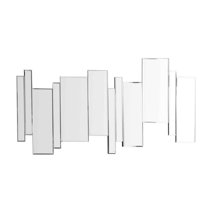 Miroir design multi barres axel transparent emde premium for Miroir mural collant