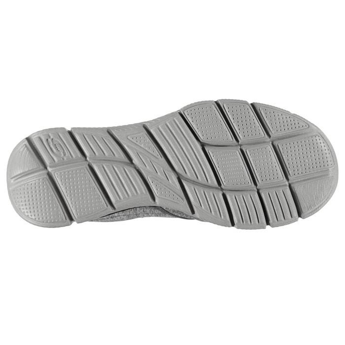 Chaussures de sport à enfiler gris, noir Skechers