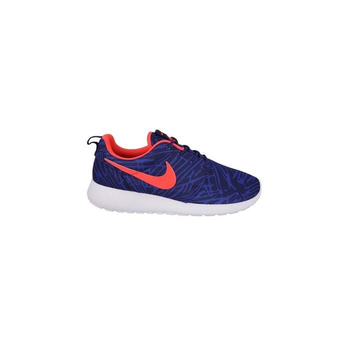 Basket roshe one print bleu Nike