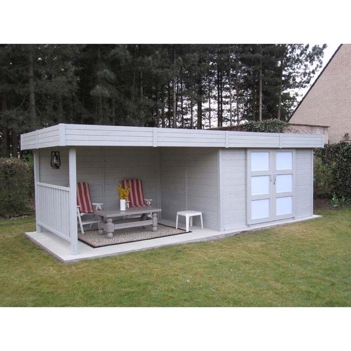 abri jardin bois arhus m 7 x x m. Black Bedroom Furniture Sets. Home Design Ideas