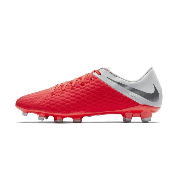 purchase cheap ab3eb bd49b Chaussures football nike hypervenom phantom iii academy fg rouge rouge Nike   La Redoute