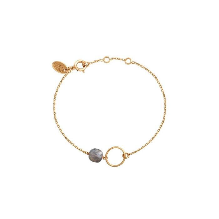 Bracelet doré labradorite fidji gris Caroline Najman | La Redoute 2018 Nouveau Rabais 2UWU8
