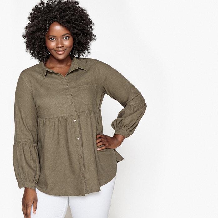 Plain Linen Shirt  CASTALUNA image 0