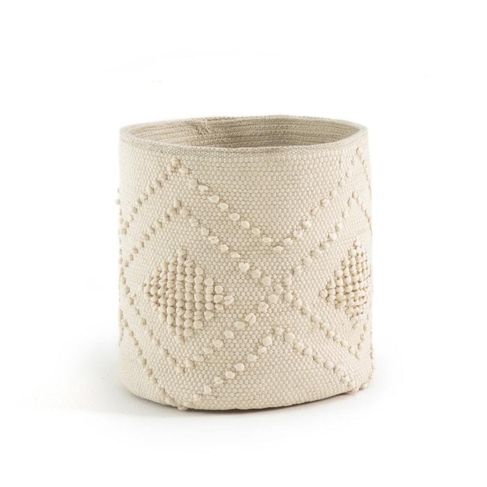 VOLOS Hand-woven Cotton Basket  La Redoute Interieurs image 0