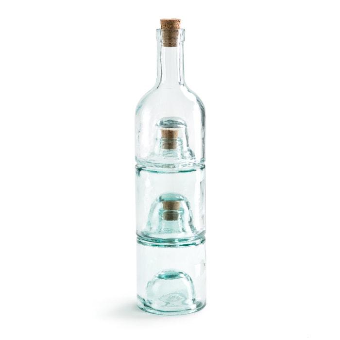 Confezione da 3 bottiglie impilabili, TYMIAN  La Redoute Interieurs image 0