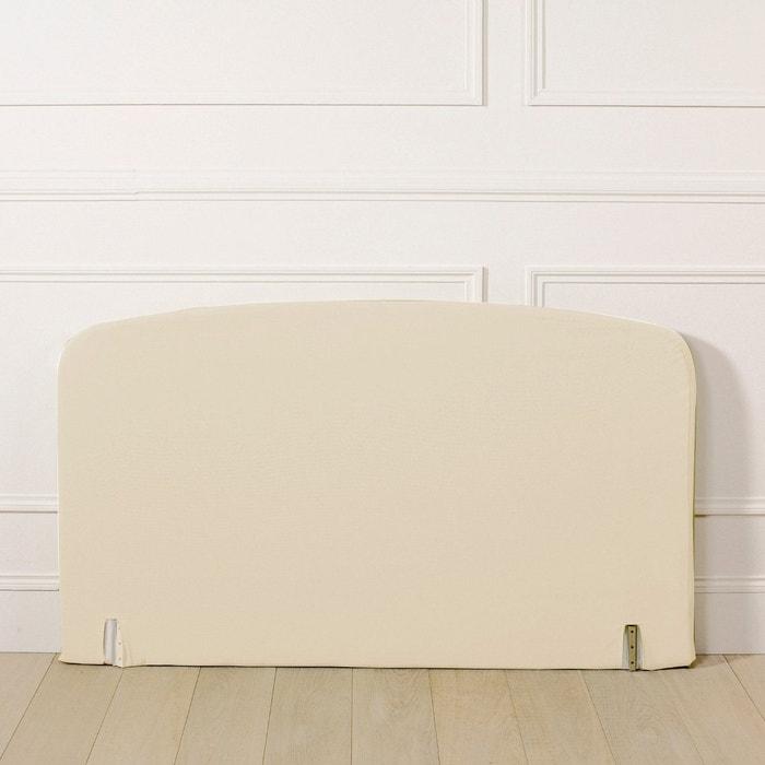 Housse pour t te de lit forme galb e la redoute for Housse tete de lit la redoute