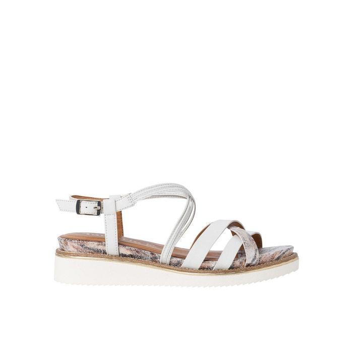 sandals cuir et liege tamaris