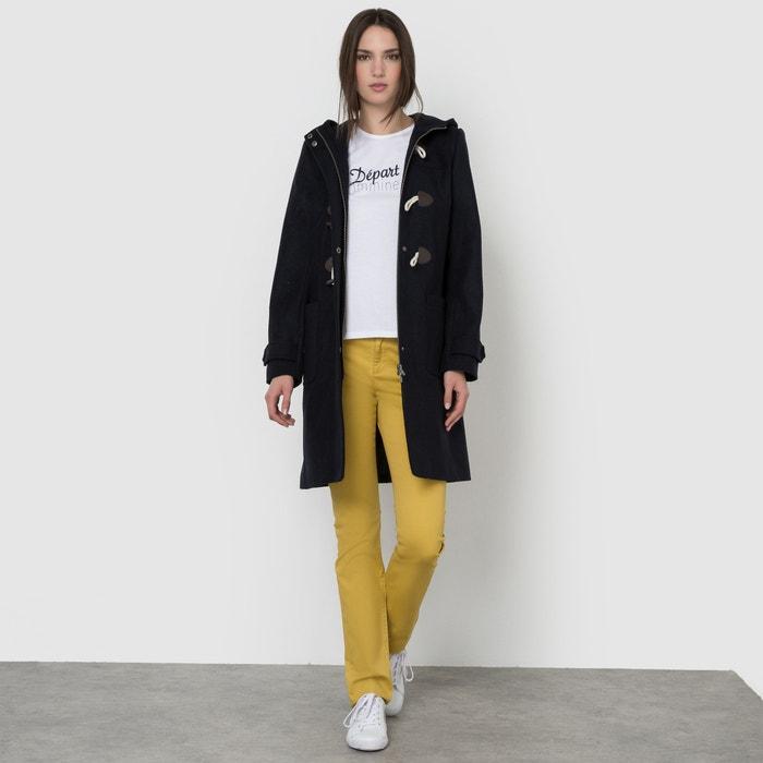 Image Long Hooded Duffle Coat La Redoute Collections