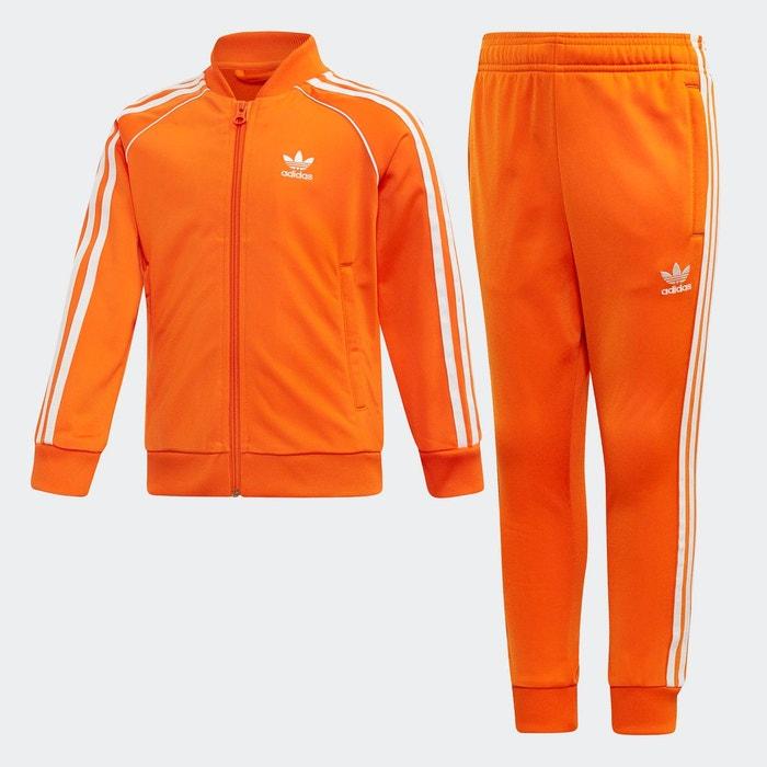 adidas survetement orange Off 54% platrerie
