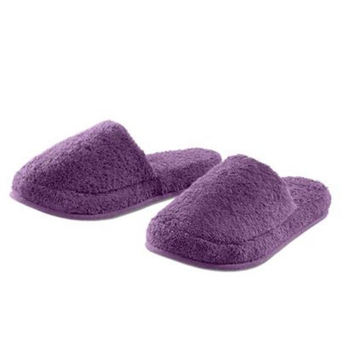 Mules raisin - coton - 450 g/m²  violet I Fil Home  La Redoute