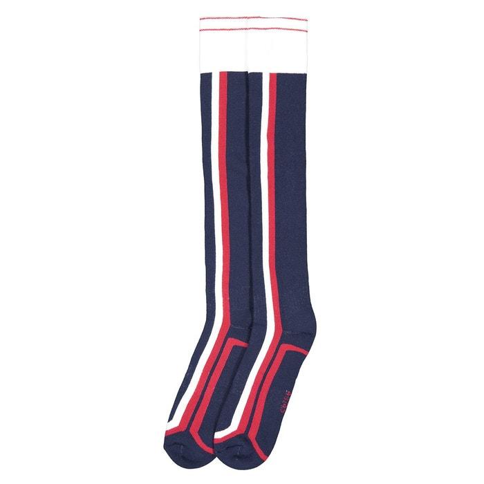 8eabc44a1654 Lot de 2 paires de chaussettes de ski bleu, blanc, rouge La Redoute  Collections   La Redoute