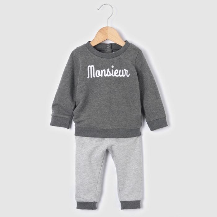 Conjunto sweat e calças, 0 meses-3 anos R mini