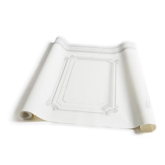 Papier Peint Soubassement Haussmannien Blanc Blanc Koziel La Redoute
