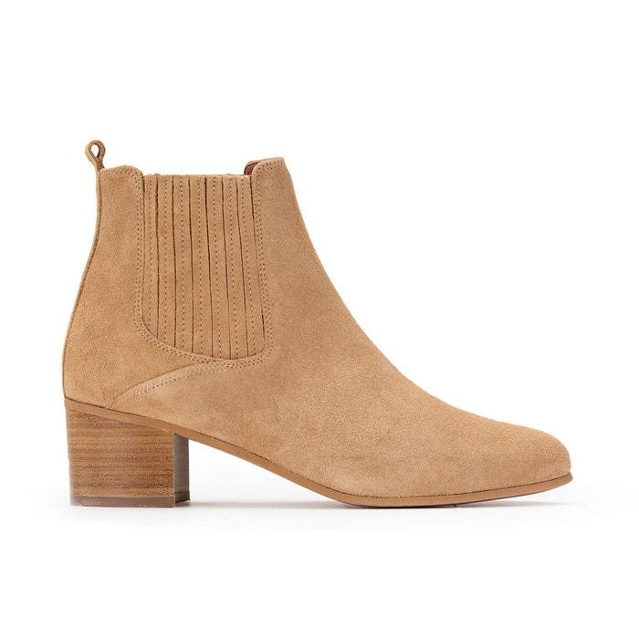 Boots cuir Debina