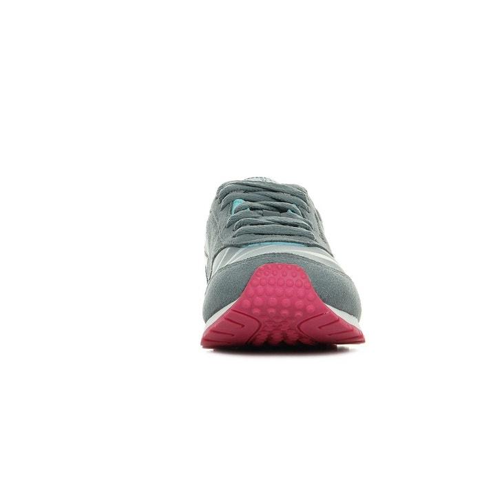Baskets femme cl nylon slim candy gris + bleu + rose Reebok