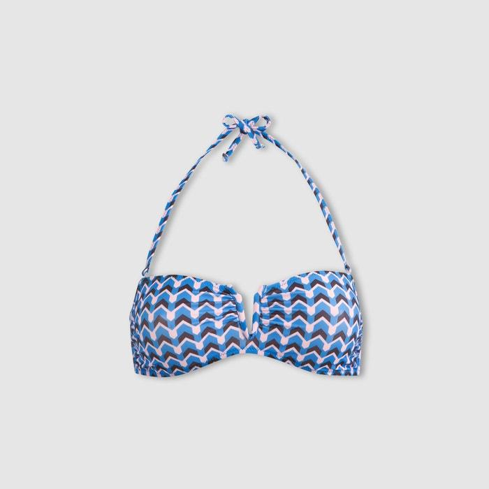bikini tipo Redoute de Sujetador banda estampado Collections La IUwfW