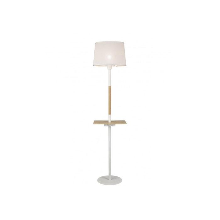 Lampadaire design usb nordica ii blanc mantra la redoute - La redoute lampadaire ...