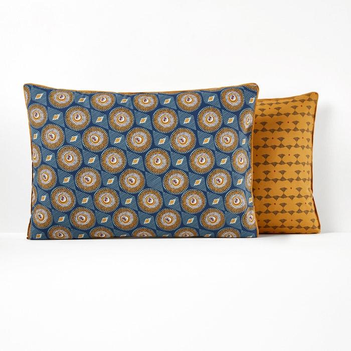 WAX Pure Cotton Pillowcase  La Redoute Interieurs image 0