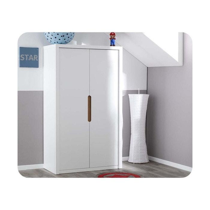 armoire enfant bow blanc ma chambre d 39 enfant la redoute. Black Bedroom Furniture Sets. Home Design Ideas