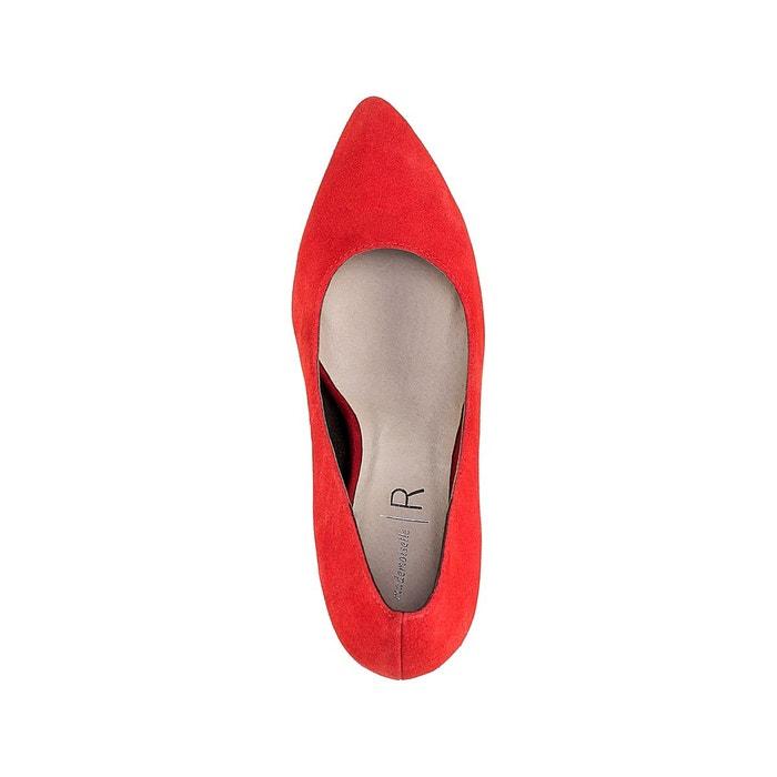 Escarpins cuir talon haut rouge Mademoiselle R
