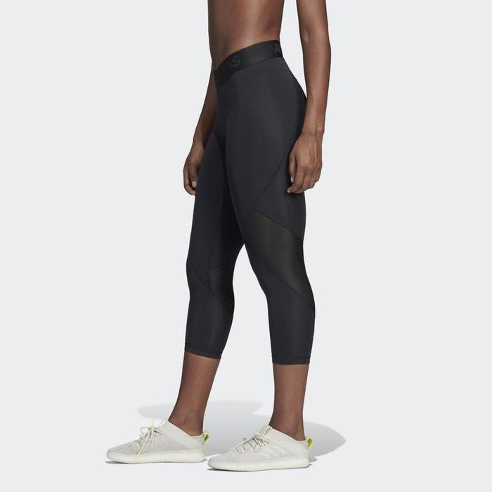 20dd5c36bf2f3c Cf6556 ankle grazer training leggings , black, Adidas Performance ...