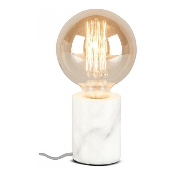 lampe poser marbre aubergine rock my partie la redoute. Black Bedroom Furniture Sets. Home Design Ideas