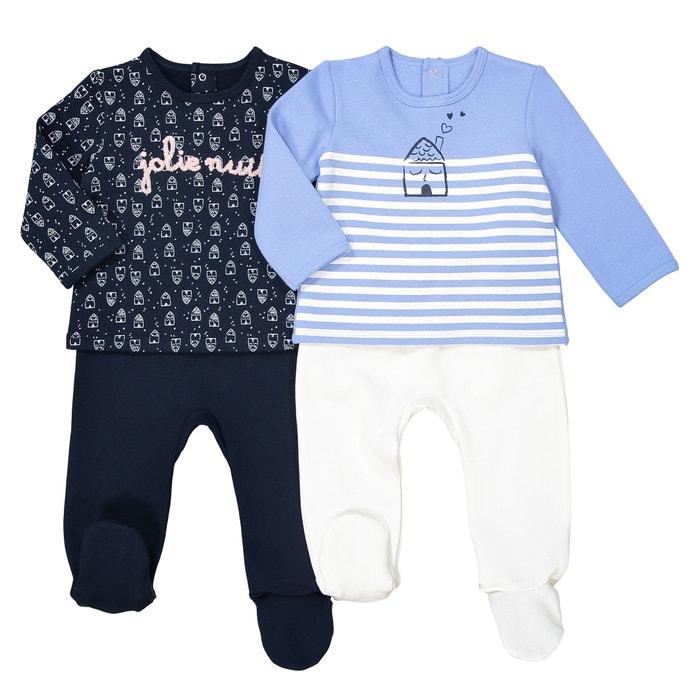 edf689debb Lote de 2 pijamas 2 prendas de felpa