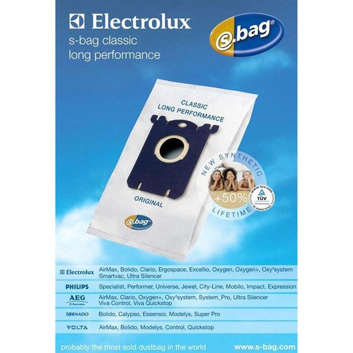 sac aspirateur e201b synth tique s bag blanc electrolux la redoute. Black Bedroom Furniture Sets. Home Design Ideas
